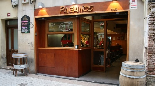 bar paganos calle laurel